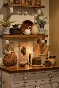 Rustic kitchen decorating ideas 13