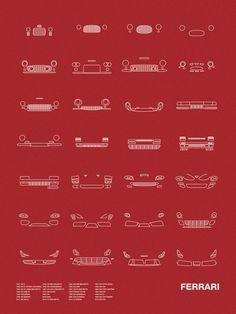 Auto Icon Screen Print Series: Ferrari Models shown: 1947 125 S / 1949 166… - https://www.luxury.guugles.com/auto-icon-screen-print-series-ferrari-models-shown-%e2%80%8b1947-125-s-1949-166/