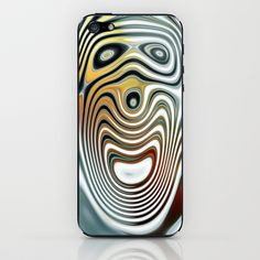 Crazy iPhone & iPod Skin by LoRo  Art & Pictures - $15.00