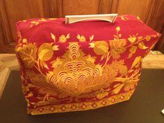 Housse faite avec une tenture ancienne ! Slipcovers, Sewing