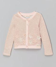 Look what I found on #zulily! Baby Sara Pink Button Down Cardigan - Infant, Toddler & Girls by Baby Sara #zulilyfinds