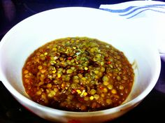Pressure Cooker Lentils-- a quick and healthy meal!