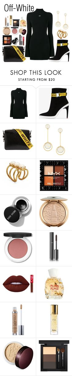 """O-W"" by rarah-chan on Polyvore featuring moda, Off-White, Tory Burch, Chanel, Lime Crime, Issey Miyake, Urban Decay, Guerlain, Laura Mercier e MAC Cosmetics"
