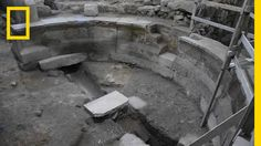 Roman Auditorium Unearthed Under Western Wall in Jerusalem | National Ge...