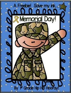 With Memorial Day soon approaching I would like to offer this freebie to you as a way of saying THANK YOU to those who have sacraficed their life for our country and our freedom! This packet contains a mini book with informational text about Memorial Day. Educational Activities, Fun Activities, Holiday Activities, Veterans Day Usa, Memorial Day Activities, Teacher Notebook, School Holidays, Grade 1, Second Grade