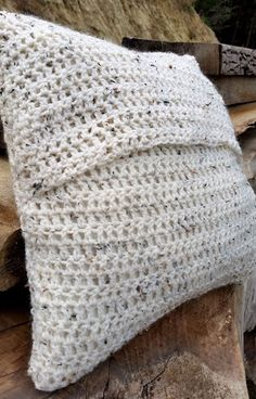 DIY PROJECT_Crochet Cushion Cover _ Easiest how to make one your self tutorial