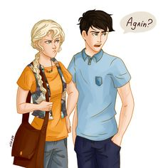 20 year old Percabeth dealing with another prophecy XD