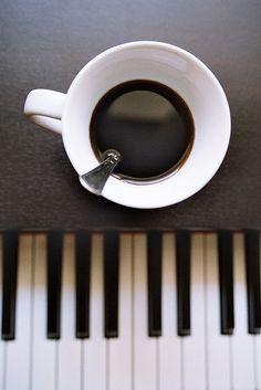 coffee & piano by *FRAnCeScA*, via Flickr