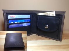 Leather wallet for man. High quality.  http://www.sashe.sk/StefanKrajcovic/detail/panska-kozena-penazenka-tmavo-hneda