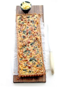 Bacon, Caramelized Onion and Spinach Quiche | Foodgraphy, November 2011