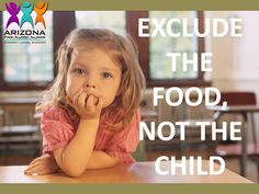 Exclude the Food, Not the child