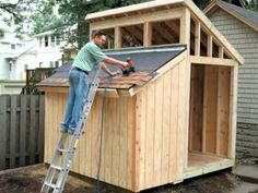 Clerestory Out Building Plans by How to Build DIY Blueprints pdf : Shed Plans Diy Storage Shed Plans, Wood Shed Plans, Shed Building Plans, Storage Sheds, Building A Garage, Shed With Loft, Build Your Own Shed, Build A Playhouse, Cat Playhouse