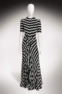 Callot Soeurs Dresses | Mid-Century Love: 1930s Black & White Evening Wear Inspiration