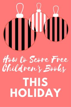 Let's get you some awesome free children's books!