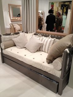 perfect day bed, for a nursery or an extra room