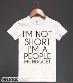 PEOPLE MCNUGGET - glamfoxx.com - Skreened T-shirts, Organic Shirts, Hoodies, Kids Tees, Baby One-Pieces and Tote Bags