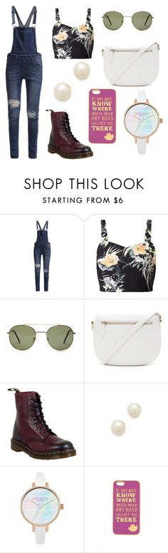 """Today's outfit #4"" by kmtr ❤ liked on Polyvore featuring Cheap Monday, Miss Selfridge, Forever 21, Dr. Martens, Juliet & Company and Disney"