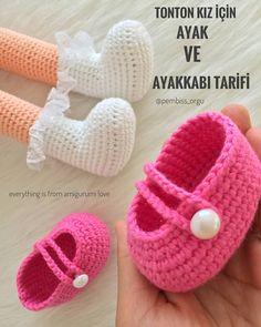 ( ・・・ Merhaba amigurumi sever ve örer a… Crochet Doll Pattern, Crochet Toys Patterns, Amigurumi Patterns, Stuffed Toys Patterns, Crochet Dolls, Crochet Doll Clothes, Doll Clothes Patterns, Crochet Eyes, Crochet Baby