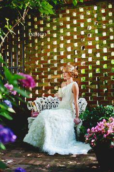 Bridal Sess, Wing Haven Gardens, Indigo Photography