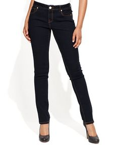 INC International Concepts Curvy-Fit Skinny Jeans, Tikglo Wash - Jeans - Women - Macy's