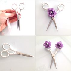 Diy - craft- proje- scissors- söz- nişan makası- yüzük tepsisi- turkey-turkish wedding culture-bride- bridal- my engagement details- white- purple