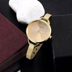 2015 luxury brand watch women fashion gold watch full steel casual quartz watch women dress watches ladies hour relogio feminino