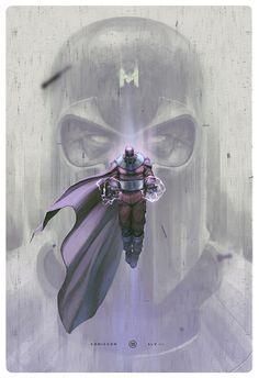 Magneto Illustration - Created by Miguel Membreño