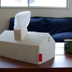 Fancy - House Tissue Box Cover