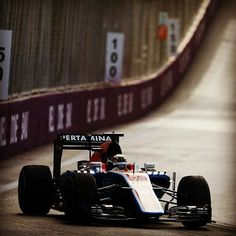 #Repost @manorracing  Tough day at the office for Pascal. He was having a strong race until he had a brake problem just 10 laps shy of the chequered flag. #bakucitycircuit #f1baku #europegp