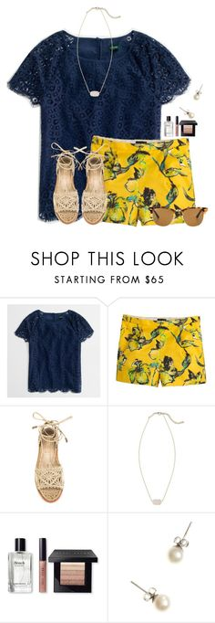 """""""Who likes Bruno Mars and what is your fav song of his?"""" by flroasburn ❤ liked on Polyvore featuring J.Crew, Paloma Barceló, Kendra Scott, Bobbi Brown Cosmetics and Ray-Ban"""