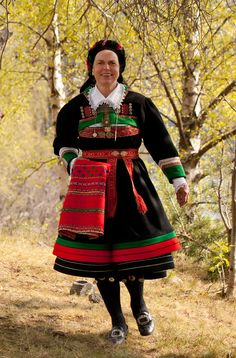 "The folk costume ""Bunad"" from Setesdal, Norway"