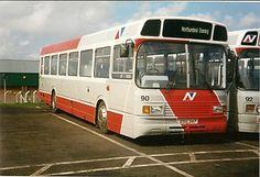 Bus Photo - Midland Red 399, Leyland National, with Northumbria | eBay