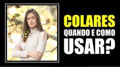 QUANDO E COMO USAR COLARES - Vitória Portes - YouTube Youtube, Blog, Instagram, Fashion, Necklaces, Tips, Outfits, Woman, Moda
