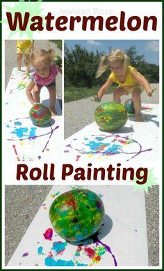 Summer fun - painting