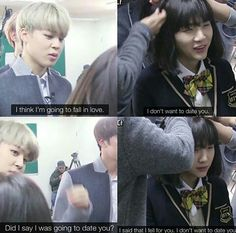 Yoonmin is playing hard to get