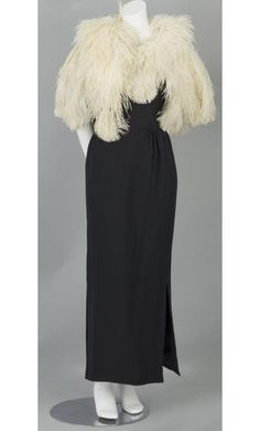 1920s Ostrich Feather Cape