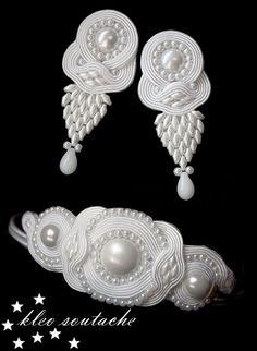 Sutasz Kleo /Soutache jewellery: ELERIS II