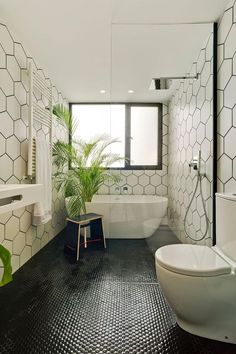 green bathroom White Bathroom Ideas - Before you start decorating an all-white bathroom, there are a couple of things you require to understand. An experienced shares her important white bathroom . All White Bathroom, Mold In Bathroom, Black And White Bathroom Ideas, Asian Bathroom, Bathroom Cabinets, Tiled Bathrooms, Black White Bathrooms, Bathroom Green, Bathroom Bin