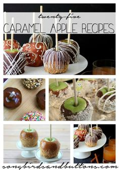 25 Caramel Apple Recipes - Kendall Rayburn