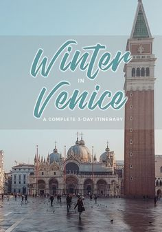 Getting ready for a trip to Venice? Check out this itinerary to help you plan your adventures! Venice In January, Venice In Winter, Visit Venice, Italy Travel Tips, Travel Europe, Venice Travel, Backpacking Europe, Europe Destinations, Travel Information