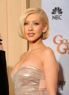 Christina Aguilera - 67th Annual Golden Globe Awards - Press Room