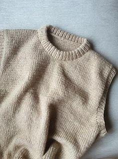Ravelry: Vest No. 1 pattern by My Favourite Things Western Outfits, Crochet Braids, Knit Crochet, Knit Vest Pattern, Jumpsuit Pattern, Fairy Clothes, Vest Outfits, Slow Fashion, Fashion Fashion