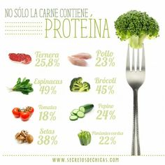 # Alimentos con proteina