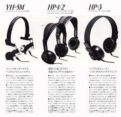 YH-5M HP-1 2 3 Yamaha, Audio, Vintage, Primitive