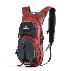 MLS2013 Waterproof Sports Backpack Shoulder Belt Bag For Biking Cycling Camping Hiking 20L Wine Red *** See this great product. Note:It is Affiliate Link to Amazon.