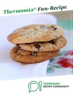 Only THE BEST Chocolate Chip Cookies EVER! by makeitperfect. A Thermomix <sup>®</sup> recipe in the category Baking - sweet on www.recipecommunity.com.au, the Thermomix <sup>®</sup> Community.