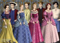 Tudor Disney I by Kathofel.deviantart.com on @deviantART