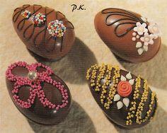 Keiner zu klein,köstlich zu sein !: Aus Schokolade , Dekor aus Zucker Biskuit Hasen ... Marzipan, Blog, Sugar, Chocolate, Biscuit, Blogging