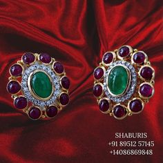 Silver Jewellery Indian, Indian Jewellery Design, Silver Jewelry, Jewelry Design, Diamond Studs, Diamond Earrings, How To Make Notes, Stone Jewelry, 18k Gold