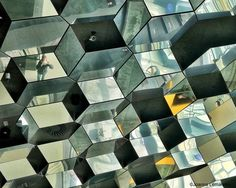 Abstract, Office in Harpa, Reykjavik. Architectural photography by Joanna Lemanska Urban Photography, Photography Tips, Abstract City, Geometric Lines, Architectural Elements, Interior Architecture, Interior Design, Iceland, Geometry